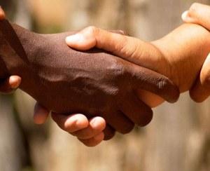 Indian White Handshake
